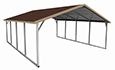 Open Boxed Eave Carport
